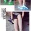 รองเท้ามีไฟ รองเท้า LED สีเงิน เปลี่ยนสีได้ 11 สี สินค้าพรีออเดอร์ thumbnail 7