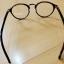 แว่นตาสีน้ำตาลเงา กรอบแว่นทรงหยดน้ำ เลนส์ใส thumbnail 3
