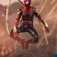 Hot Toys MMS482 AVENGERS: INFINITY WAR - IRON SPIDER thumbnail 3