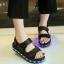 รองเท้ามีไฟ รองเท้า LED รองเท้าแตะมีไฟ สีดำ สินค้าพรีออเดอร์ thumbnail 1