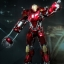 Hot Toys PPS002 IRON MAN 3 - POWER POSE RED SNAPPER thumbnail 3