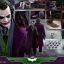 Hot Toys QS010 THE DARK KNIGHT - 1/4 THE JOKER thumbnail 2
