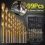 D13 ชุดดอกสว่าน 99 ชิ้น ไทเทเนียมCoated1.5mm-10มิลลิเมตร thumbnail 1