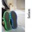 รองเท้ามีไฟ รองเท้า LED สีดำ มีลายเพ้นท์หลายสี เปลี่ยนสีได้ 11 สี สินค้าพรีออเดอร์ thumbnail 7