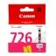 ตลับหมึกอิงค์เจ็ต Canon 726 M สีแดง หมึกแท้ 100% thumbnail 1