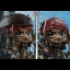 Hot Toys COSB373 PIRATES OF THE CARIBBEAN: DEAD MEN TELL NO TALES - JACK SPARROW (FIGHTING POSE VERSION) thumbnail 4