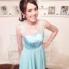 เช่าชุดไปงานแต่งงาน สีฟ้า