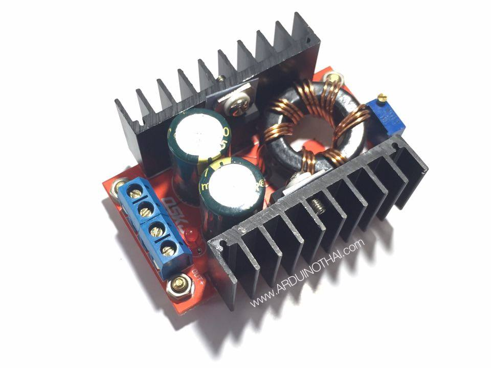 DC-DC power supply 10-32V boost switch module 150W