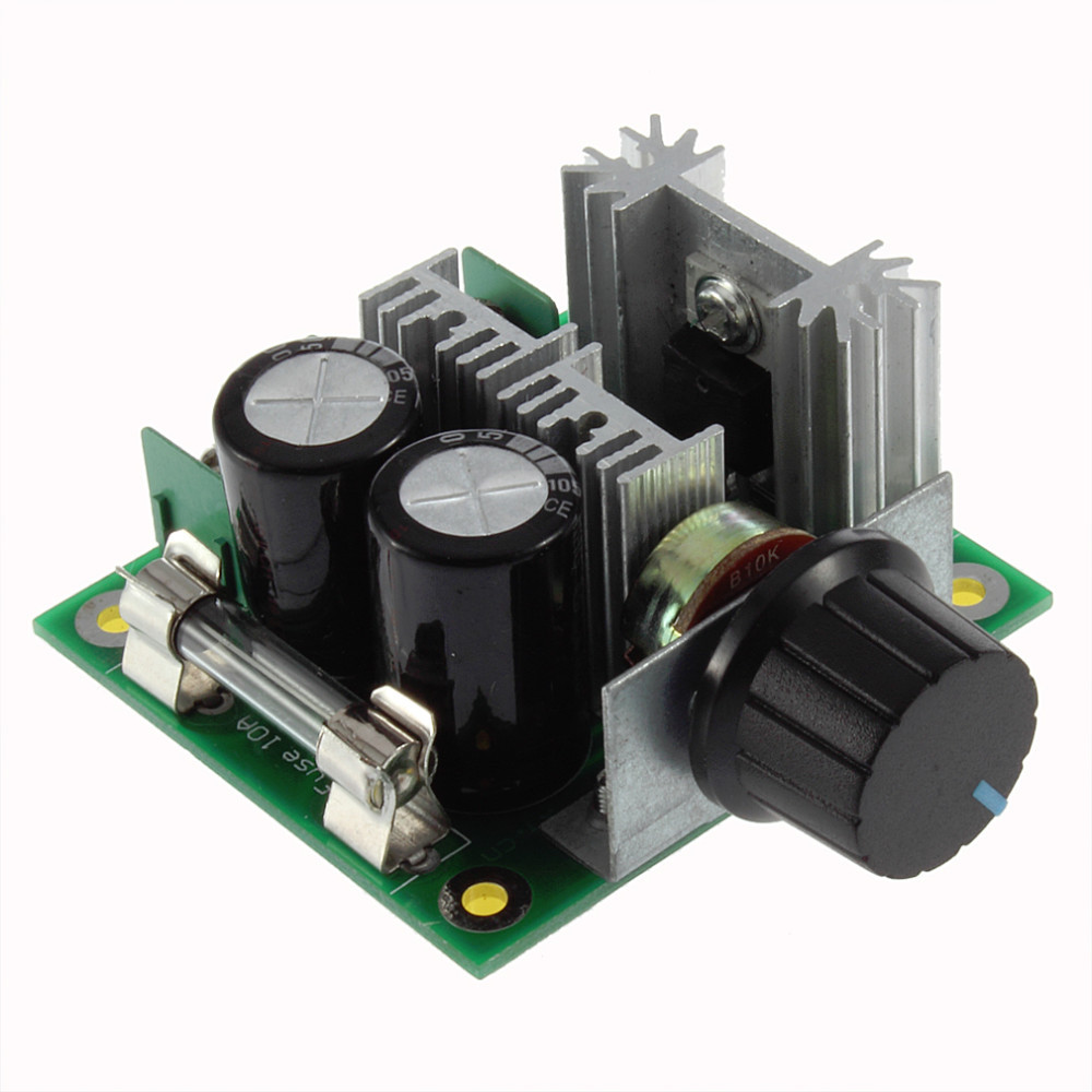DC motor speed controller (12-40V 10A)