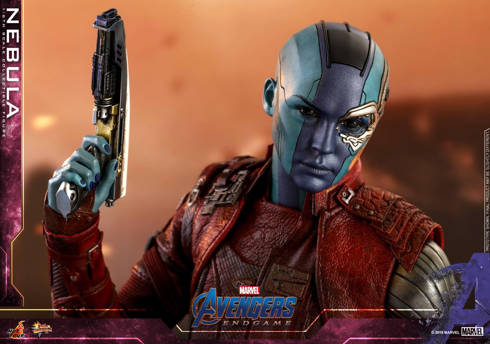 Nebula Endgame Hot Toys 1//6 MMS534 Avengers