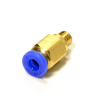 Pneumatic Connectors PC4-M6 for 4mm OD tubing