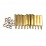 น็อตทองเหลือง M3x20mm (10 ชุด)