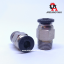 Pneumatic Connectors PC4-01 for 4mm OD tubing thumbnail 2