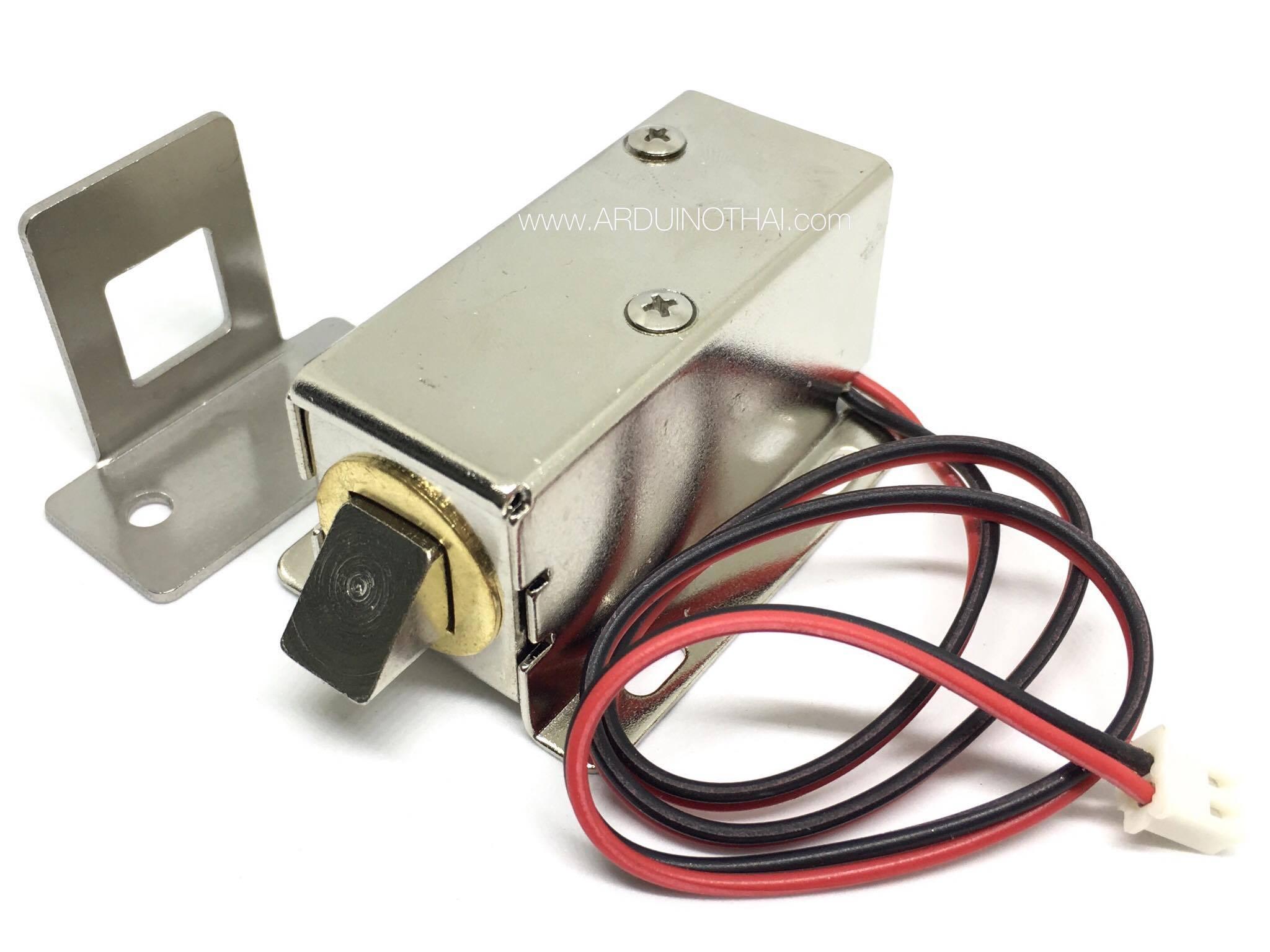 กลอนไฟฟ้า 12V with a lock LY-03