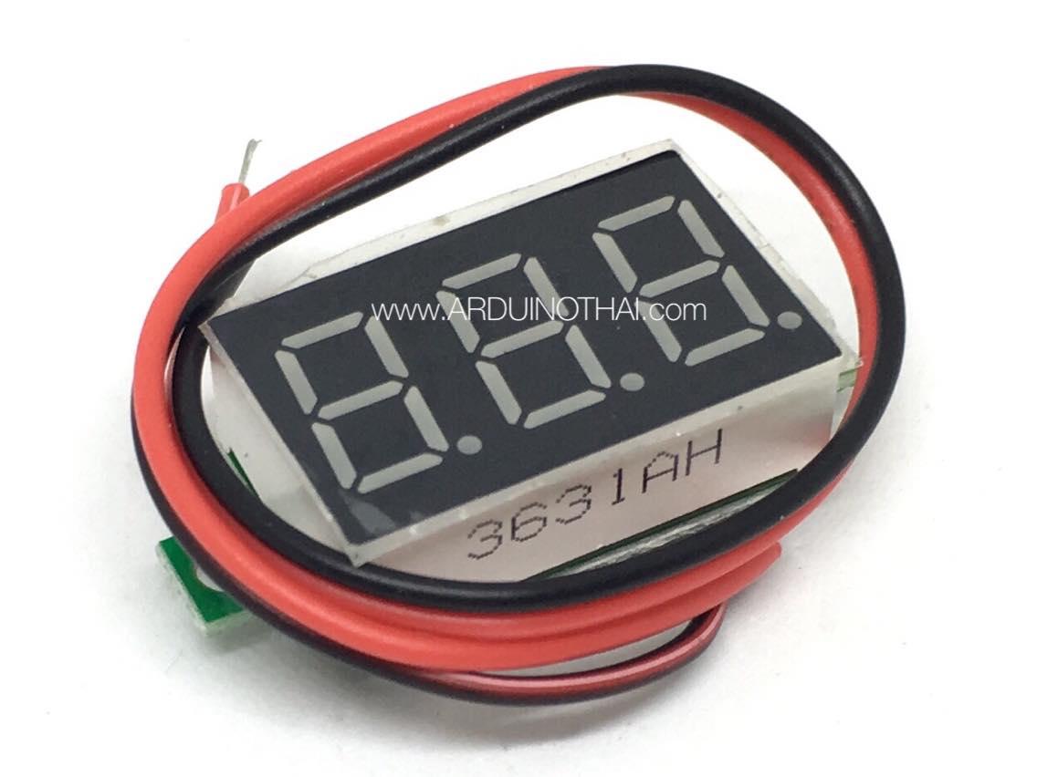 Digital DC volt meter DC4.50V-30.0V