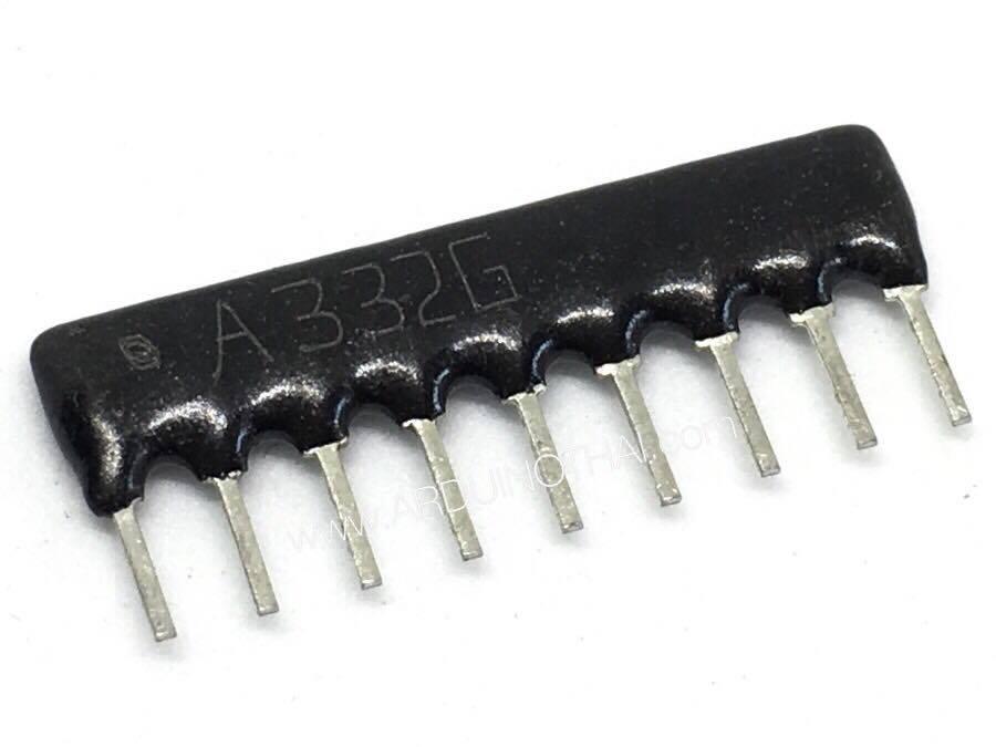 Resistor Network Array (3.3K) จำนวน 5ตัว