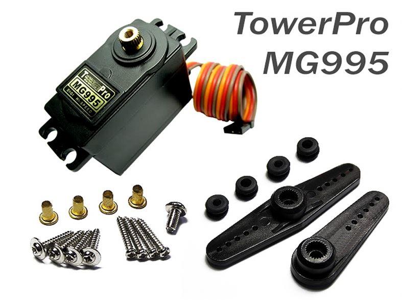MG995 Tower Pro (หมุนได้ 360 องศา)