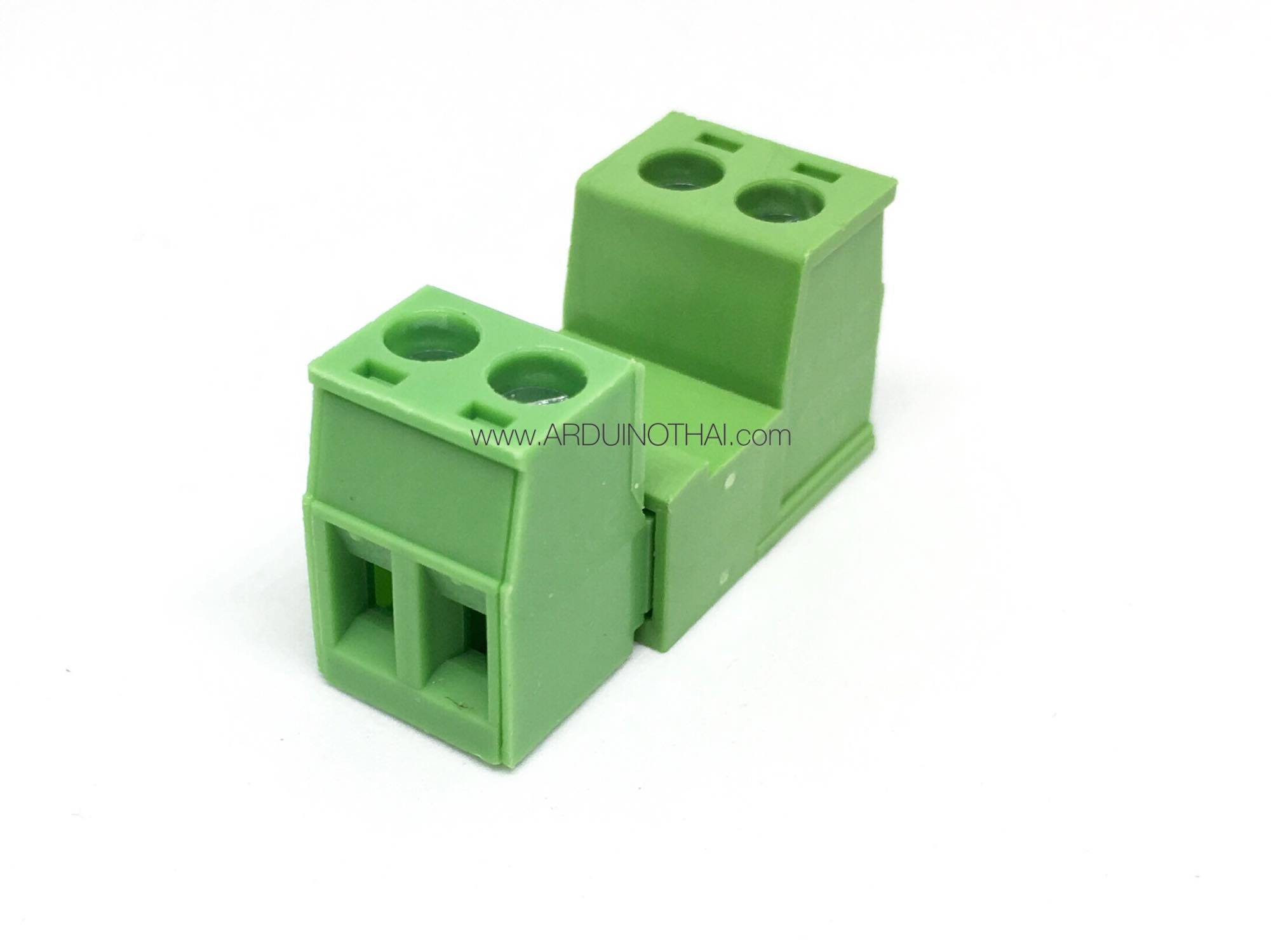 Green connector 2P (5.08mm)