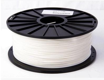เส้นวัสดุ PLA ม้วนละ 1 กิโลกรัม (สีขาว)