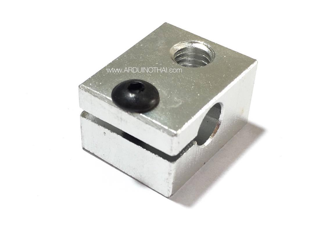 3D V6 all-metal extruder dedicated heated aluminum block