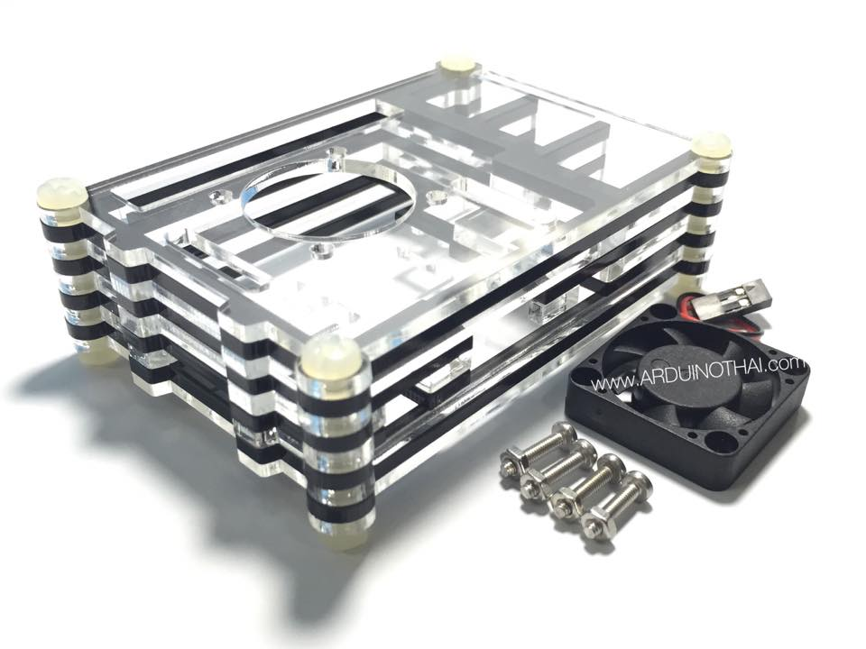 Acrylic Case for Raspberry Pi 2 Model B & Raspberry Pi B+ (Set 2)