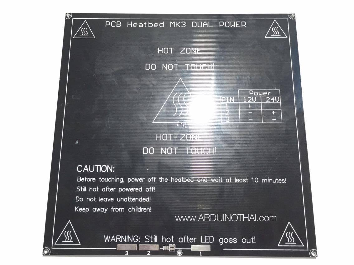 PCB Heatbed MK3 DUAL POWER