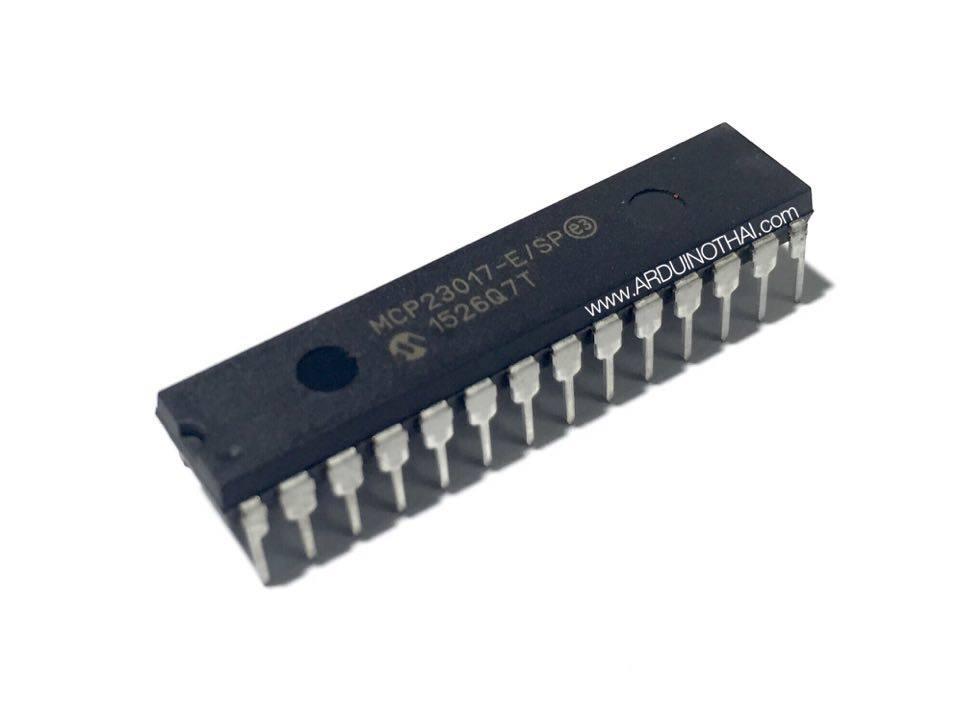 IC เพิ่ม I/O สำหรับบอร์ด Arduino (MCP23017)