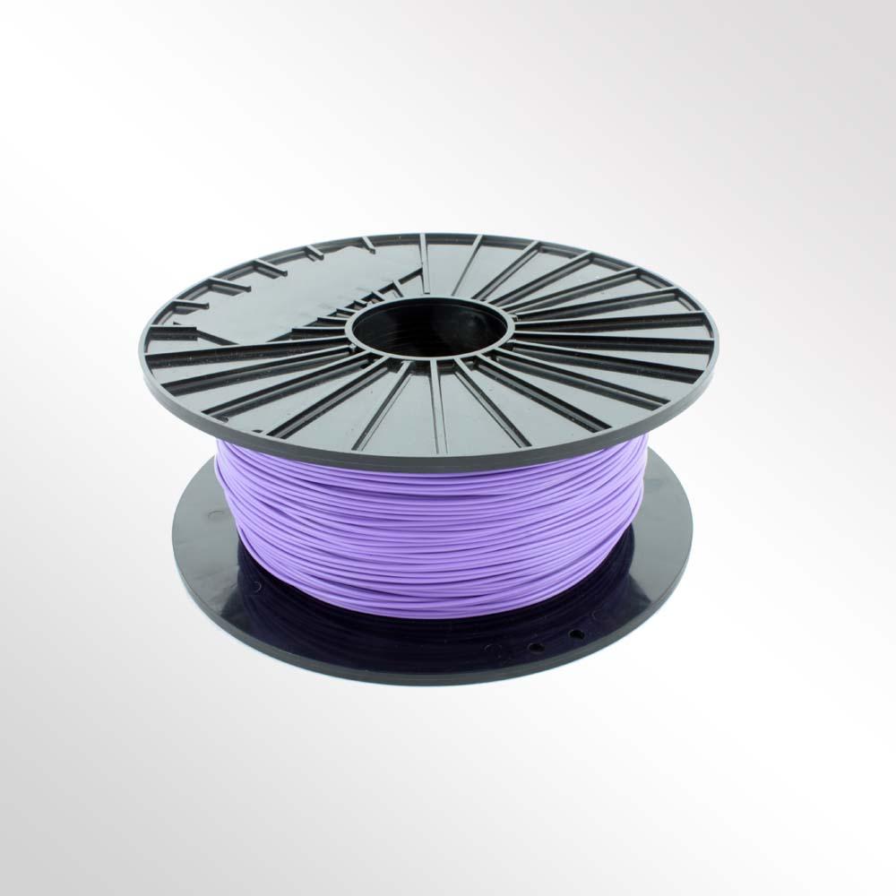 เส้นวัสดุ PLA ม้วนละ 1 กิโลกรัม (สีม่วง)
