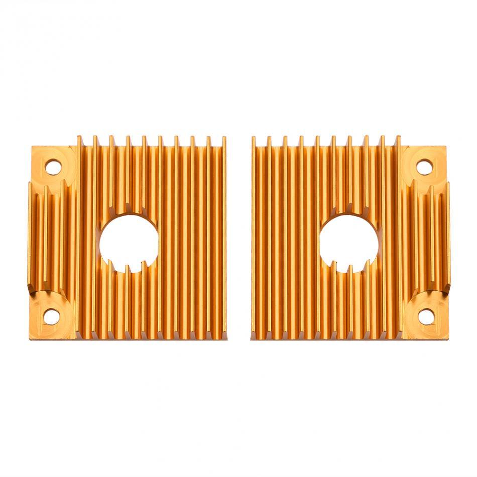 Heat Sink สีทอง 40*40*11 Cooling Fast MK7 MK8 Extruder