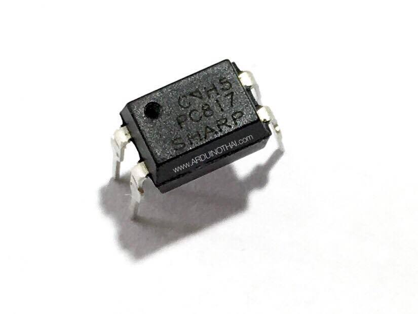 PC817C DIP-4 is a High Density Mounting Type Photocoupler