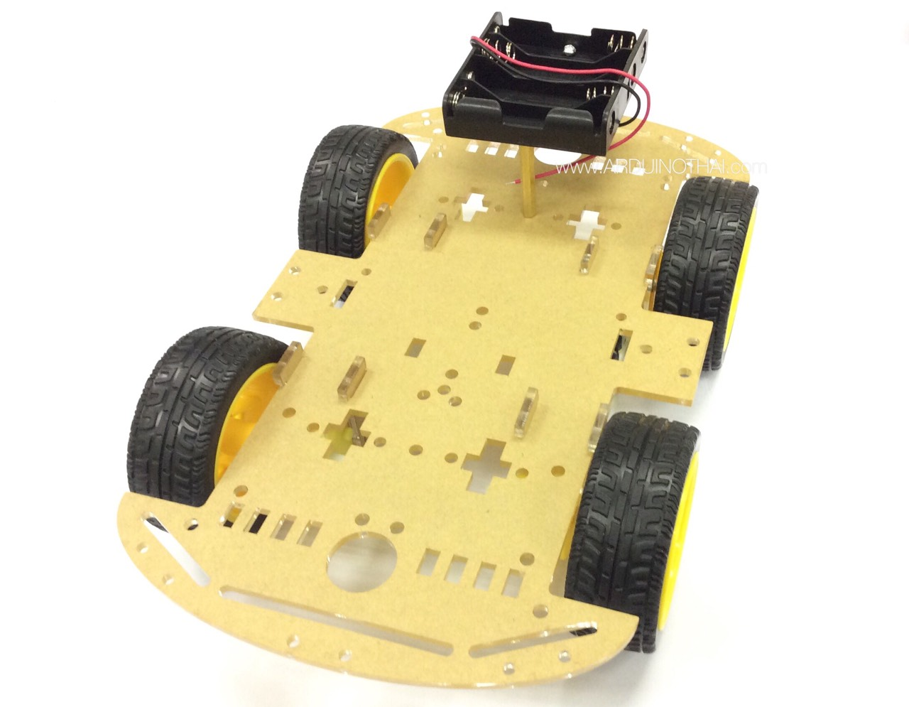 4WD smart car chassis