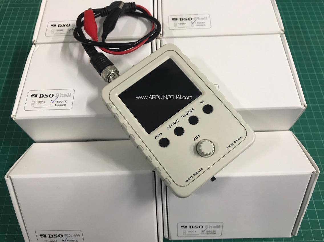 Digital Oscilloscope DIY Kit เครื่อง Oscilloscope ราคาถูกแบบประกอบเอง