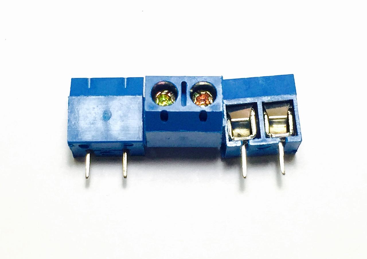 2P Terminal Connector 5.08mm (Blue)
