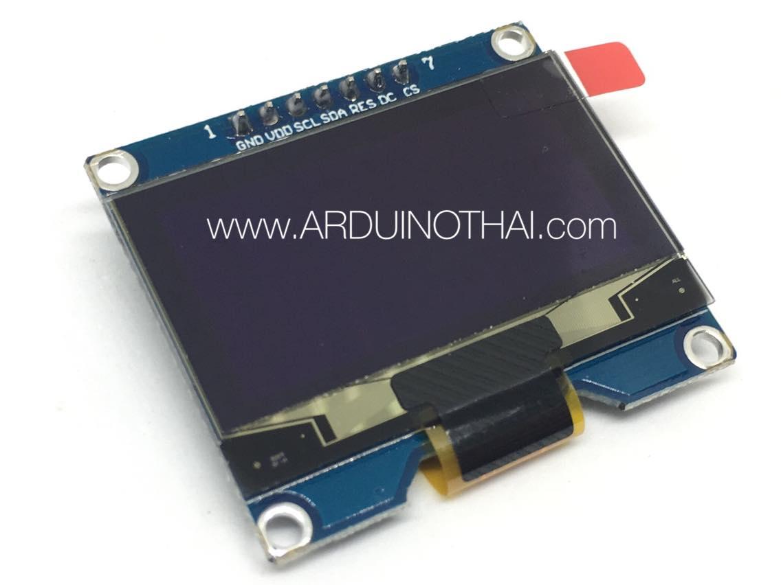 1.54-inch SPI OLED white display (128X64)