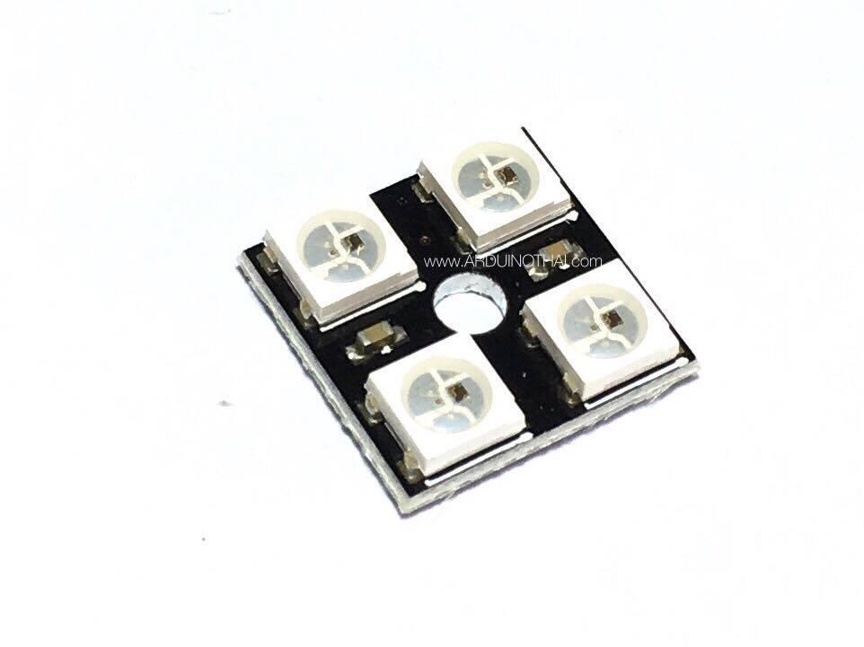 2x2 WS2812 4 RGB LED