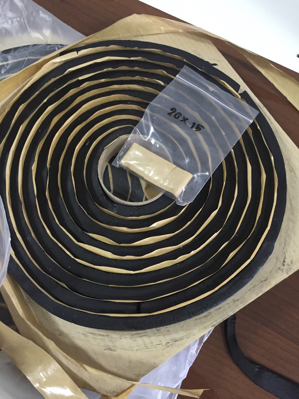 V2025 RHINOSWELL ยางบวมน้ำ (PVC Waterstop Swelling Type) (35 เมตร)