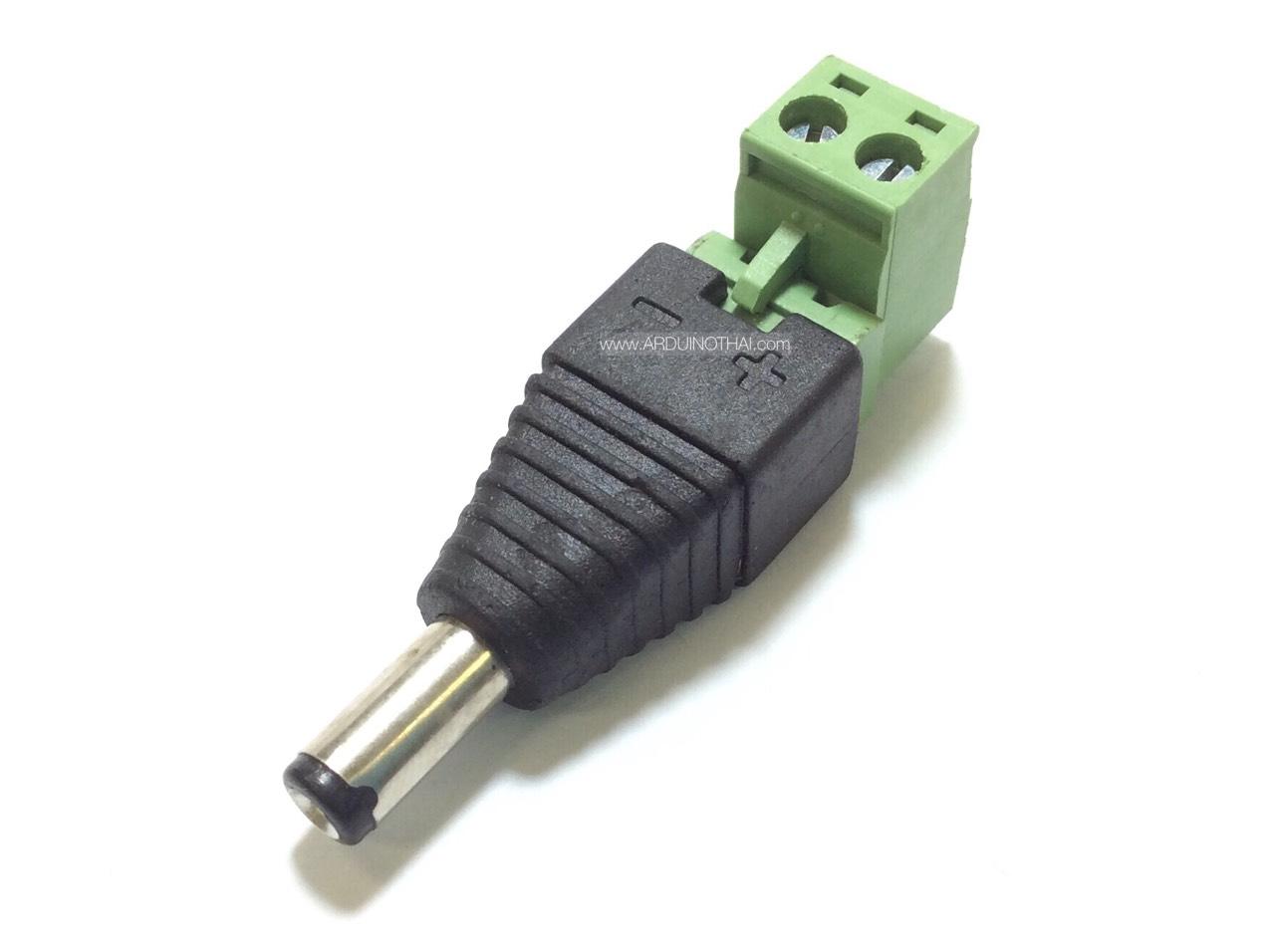 Adapter Jack with terminal สำหรับ Arduino