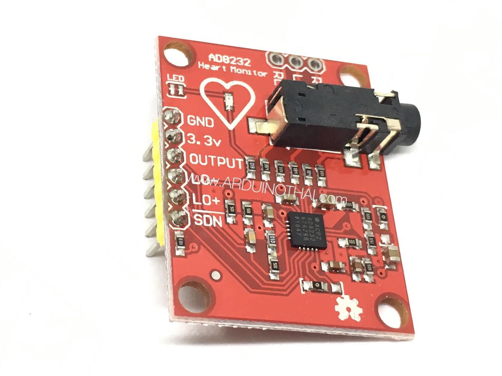 AD8232 ECG Heart Rate module