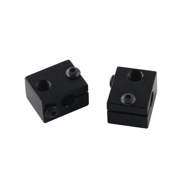 E3D V6 Heated Aluminium Block Extrusion Kit Special Heated Aluminum Block Black