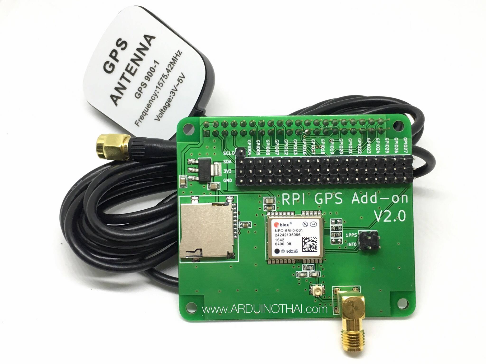Raspberry Pi GPS Module with Antenna for Raspberry Pi(2-3) model B