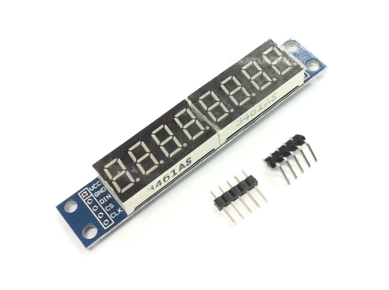 8-digit seven segment LED Display