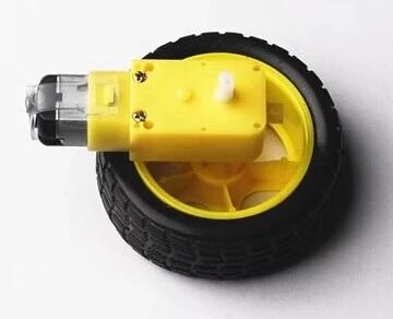 Motor Gear + Wheel