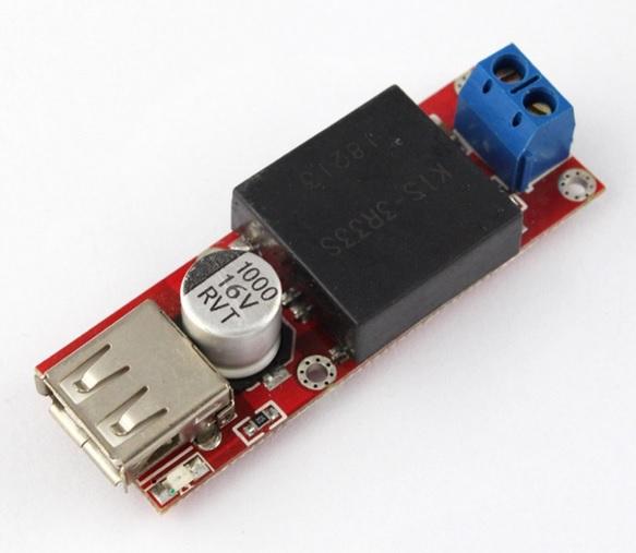 5V USB Output Converter DC 7V-24V to 5V 3A