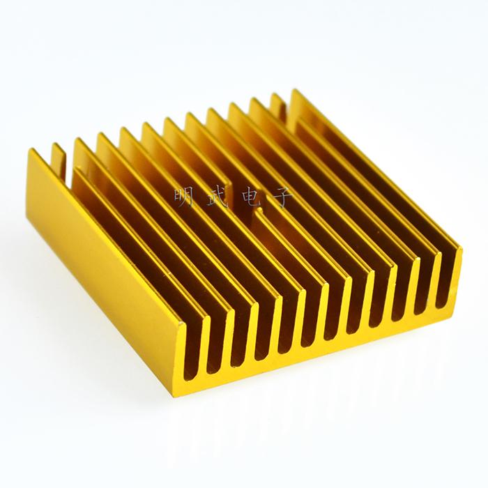 Heatsink mk7MK8 40*40*11 Makerbot Extruder Gold