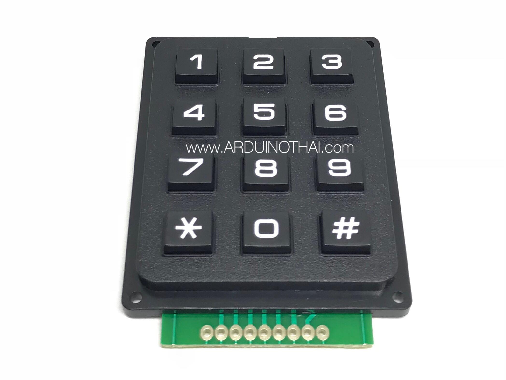 3x4 Matrix Keypad Module