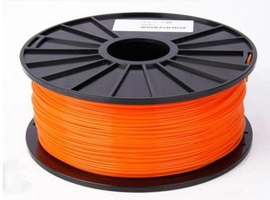 เส้นวัสดุ PLA ม้วนละ 1 กิโลกรัม (สีส้ม)