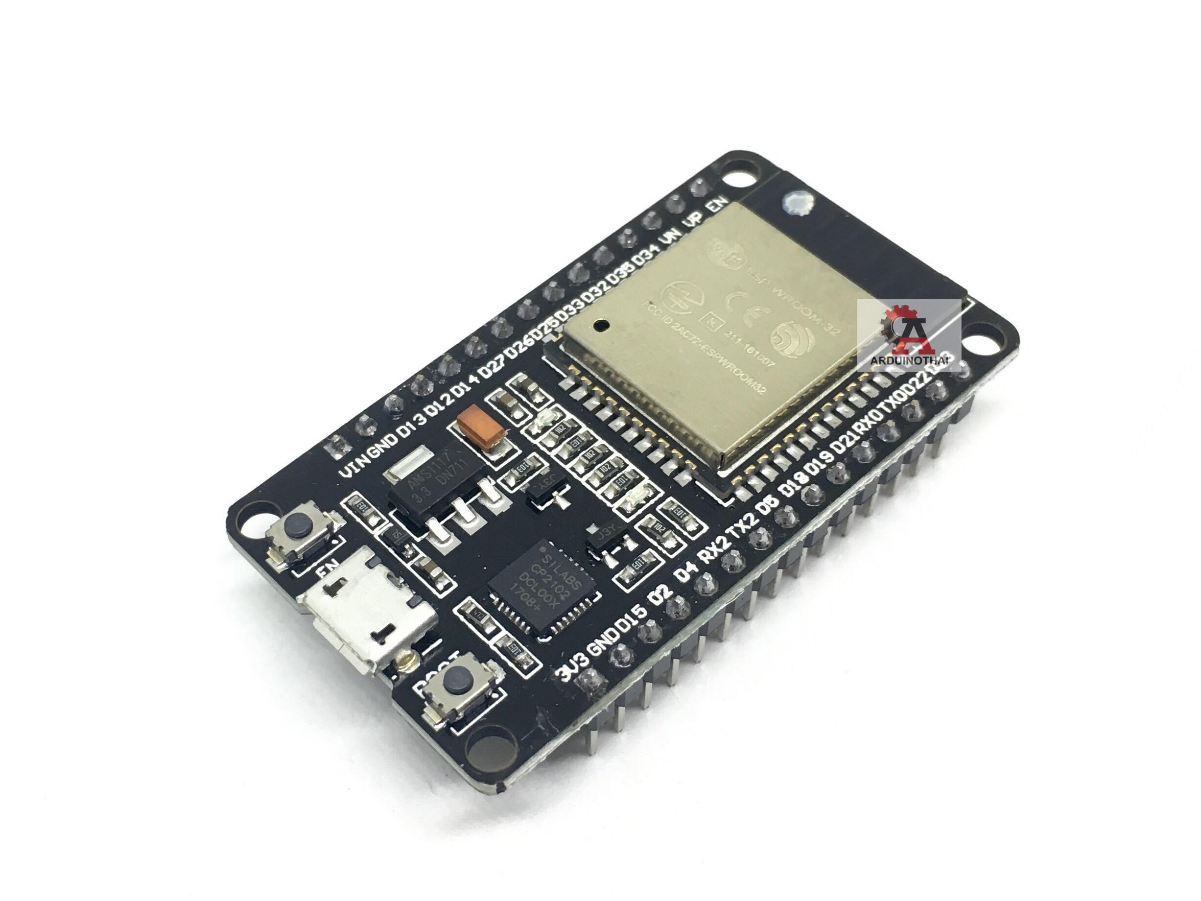 ESP32 development board (WIFI + Bluetooth 2 in 1 dual-core CPU low power)