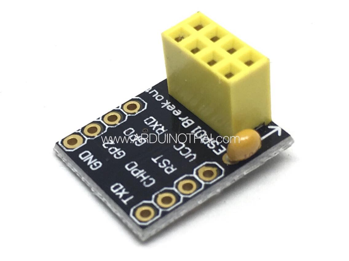 Breadboard Adapter for ESP8266 ESP01/01S