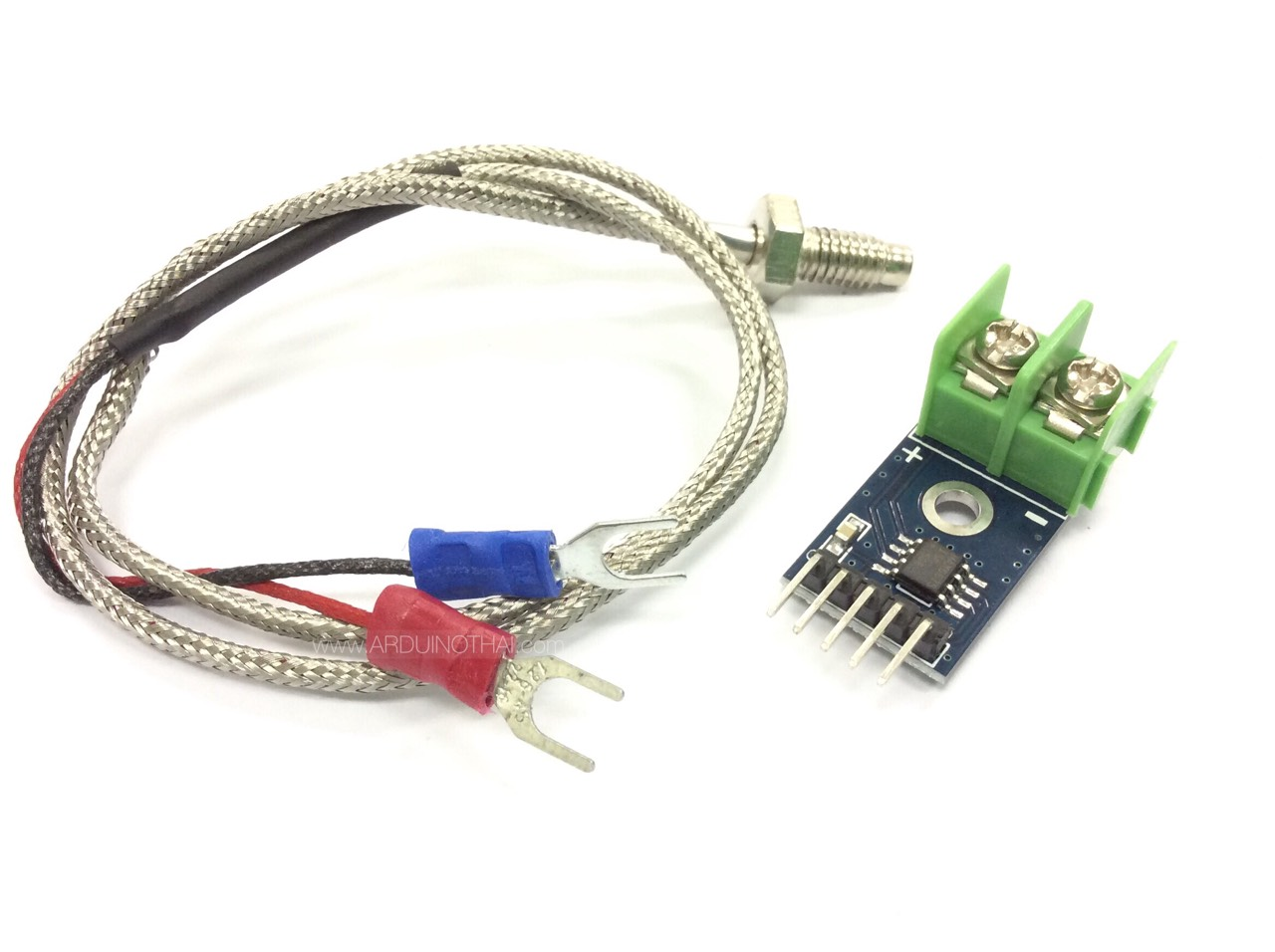 Temperature Sensor Set (MAX6675 Module and Thermocouple Type K 0-400 C)