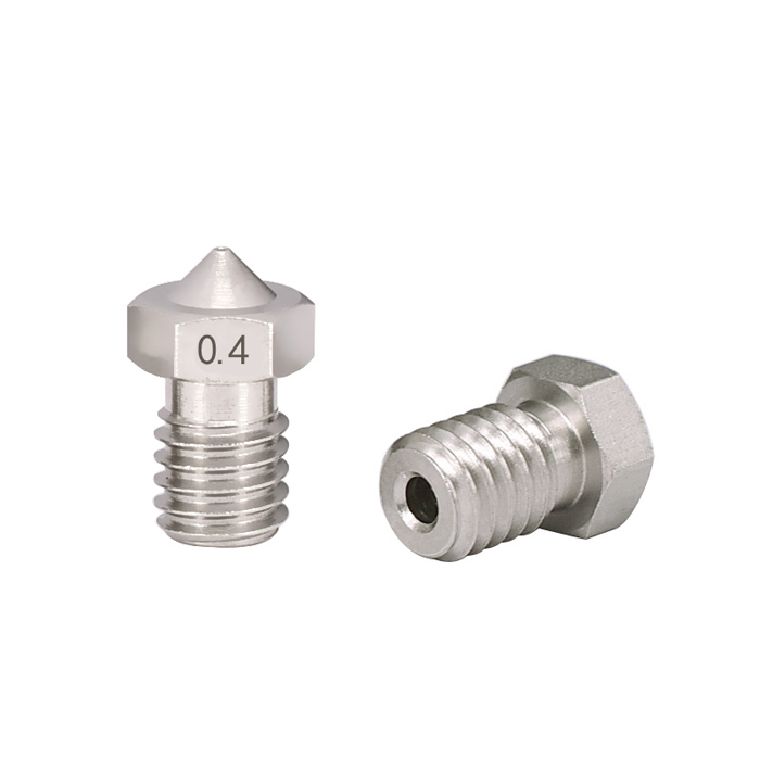 Nozzles 0.4mm Stainless Steel V5 V6 for 1.75mm Filament